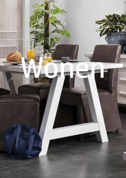 wonen eetkamer meubelen